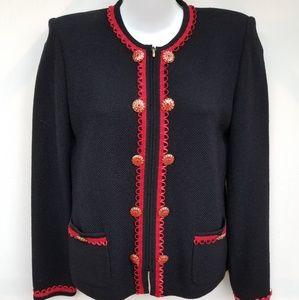 St. John knitted sweater cardigan